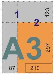schemat składania rysunków doteczek ikopert - format A3