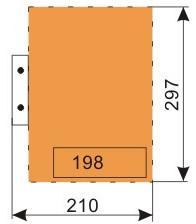 schemat składania rysunków do wpinania z listwą - format A4
